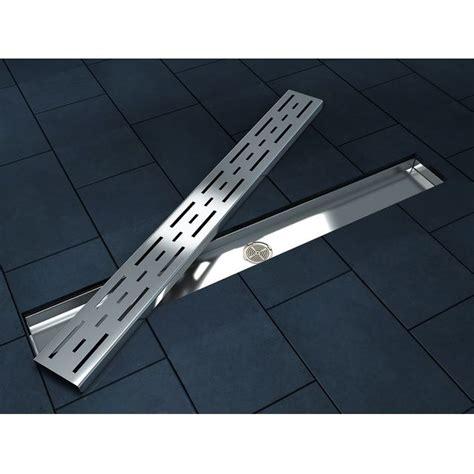 griglie a pavimento canalina di scarico a terra con griglia in acciaio inox go