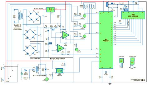 microcontroller based projects with circuit diagram water level controller