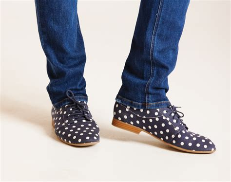 polka dot oxford shoes how to pair slim and shoes