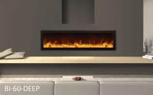 amantii indoor panorama series slim electric fireplace 60