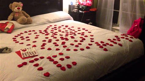 cuarto decorado con fotos y globos decoracion romantica youtube