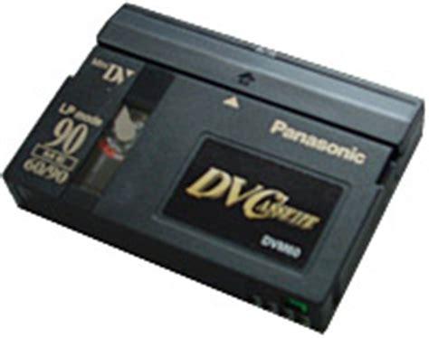 cassette minidv the minidv format