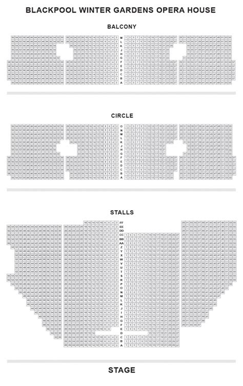 seating plan opera house blackpool blackpool opera house seat plan for mamma mia blackpool