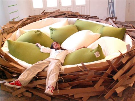 nest bed bird s nest bed