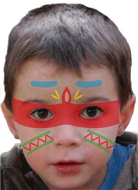 Karneval Schminken Indianer by Die Besten 17 Ideen Zu Indianer Schminken Auf