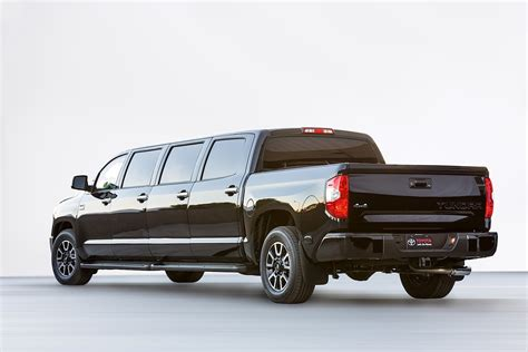 toyota limo toyota tundrasine is a luxury pickup limousine because
