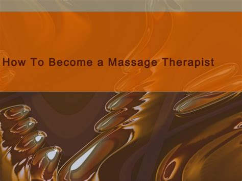 how to a to become a therapy how to become a therapist