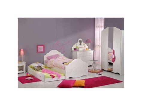 chambre complete conforama chambre enfant compl 232 te 90 190 blanc andrea l 195 x