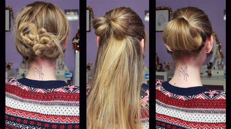 pettinature semplici da fare in casa acconciature capelli facili da fare a casa acconciature