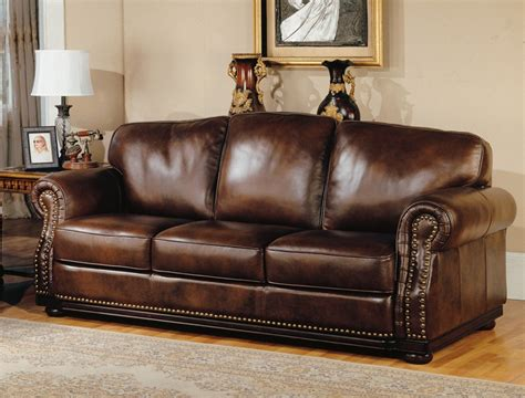 albany leather sofa prestige albany walnut leather sofa by house palb