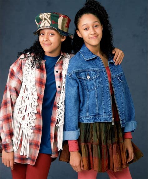 throwback photo of the day tia tamera with their throwback thursday sister sister educate elevate