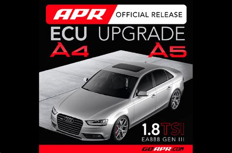 Audi A4 Ecu Upgrade by Apr Ecu Upgrade B8 5 Audi A4 And A5 1 8tsi Quattroworld