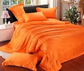 King Size Bedding Orange New Arrival Bedspread Orange Color Duvet Cover