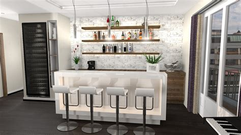 Home Bar Decoration by Decoration Appartement Villa Relooking Interieur Plus