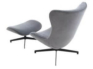 swivel upholstered armchair by roset italia design