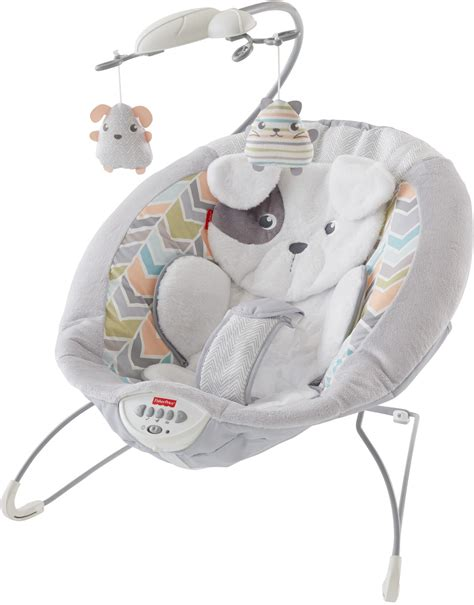 snug a puppy fisher price my snugapuppy deluxe bouncer white baby