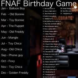 fnaf birthday game fivenightsatfreddys