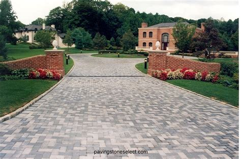 stone driveway paving stones and photo displays on pinterest