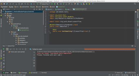 android studio junit 4 tutorial roboelectric and android studio