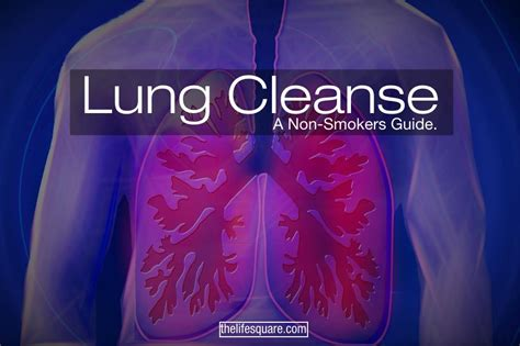 Best Detox For Smokers by Lung Cleanse For Non Smokers Clean It Before Its Late
