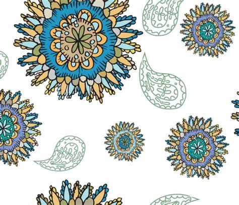 flower doodle fabric doodle flowers on white feild fabric naomibroudo