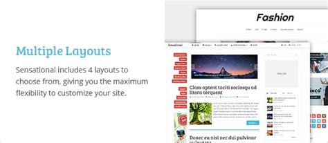 wordpress multiple layout sensational magazine wordpress theme mythemeshop