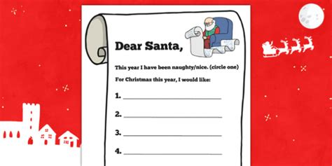 letter to santa template twinkl prince george s letter to santa writing template prince
