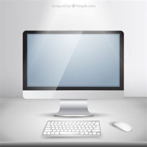 eps format mac realistic imac vector free download