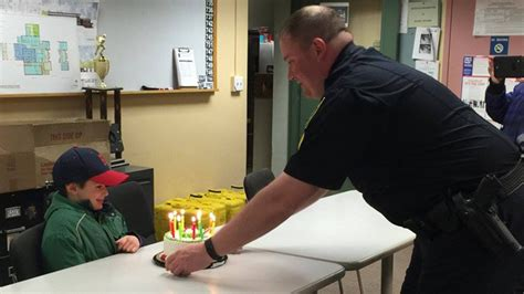Stelan Boy 29 randolph officers replace presents stolen during boy s birthday 171 cbs boston
