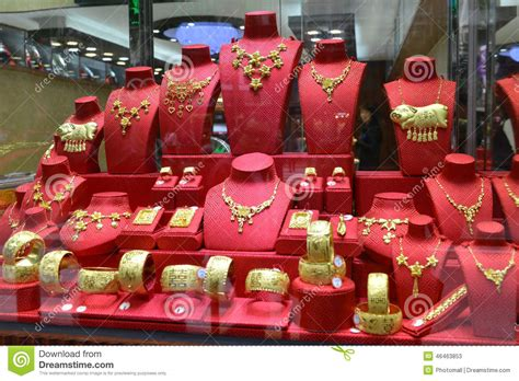 Wedding Gift Hong Kong by Closeup Of Gold Jewelry Shop Window The Wedding Gift