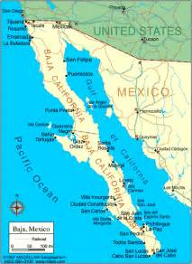baja california peninsula map map of mexico with facts statistics and history