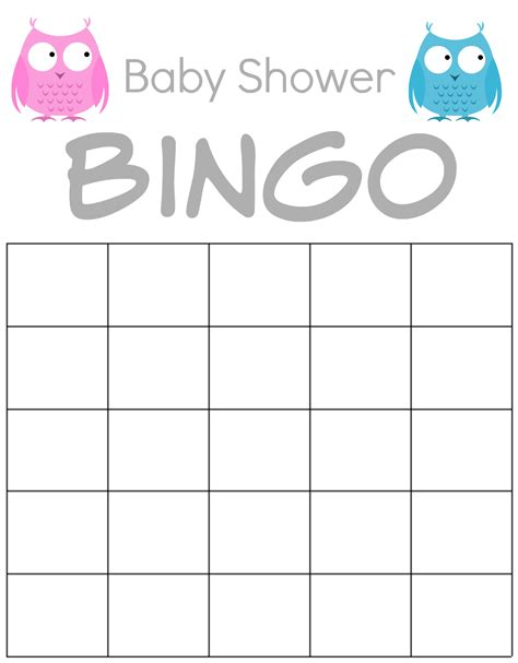 Baby Shower Bingo Printables by How To Throw A Baby Shower For Less Than 100 Thrifty Nifty