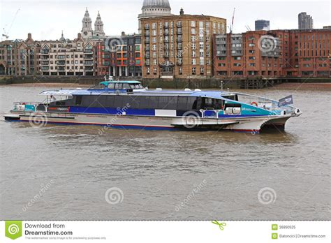 thames river cruise november thames clipper editorial image image 36890525