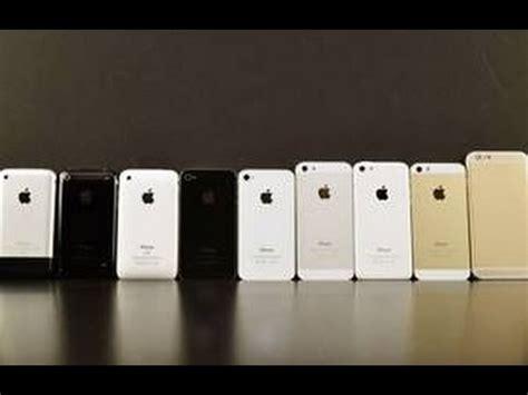 Iphone 6 Annus 2 iphone 2g 3g 3gs 4 4s 5 5c 5s 6 6 plus compare
