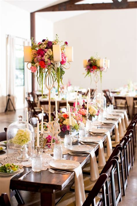 wedding reception table decor table decor table wedding decor casual elegance wedding table decor see the wedding on