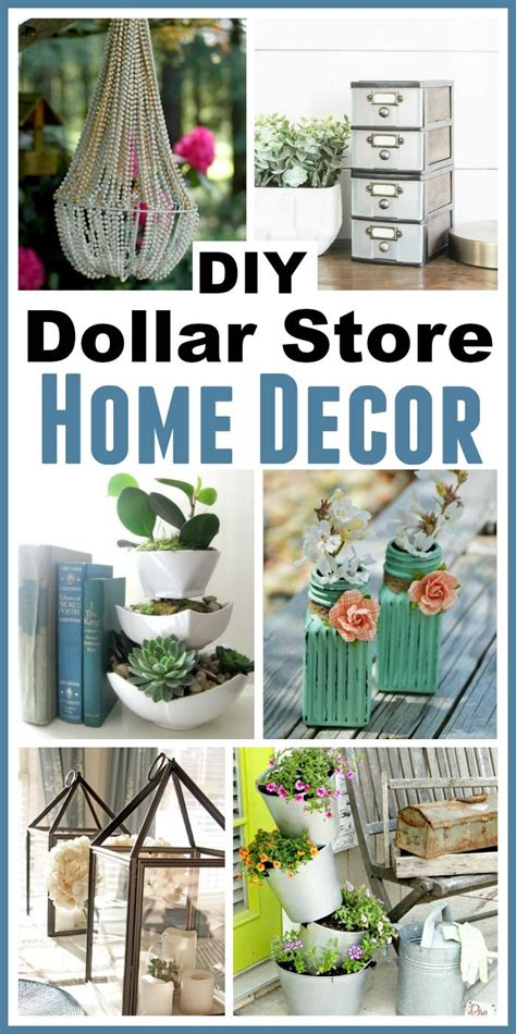 dollar home decor diy dollar store home decorating projects