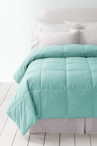 lands end down comforter pureloft comforter from lands end