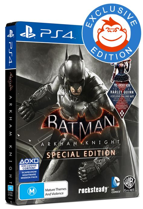 Kaset Ps4 Batman Arkham Of The Year Edition batman arkham special edition ps4 buy now at