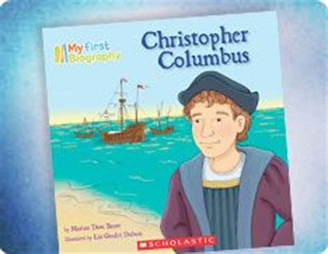 christopher columbus biography for students columbus day craft lap book writing activity from