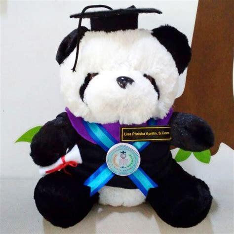 Boneka Wisuda Pontianak toko boneka boneka panda widya dharma pontianak kado