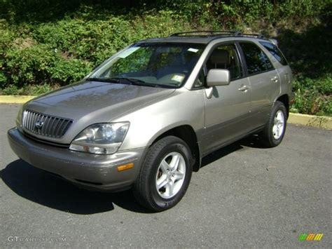 gold lexus rx 2000 burnished gold metallic lexus rx 300 awd 37125532