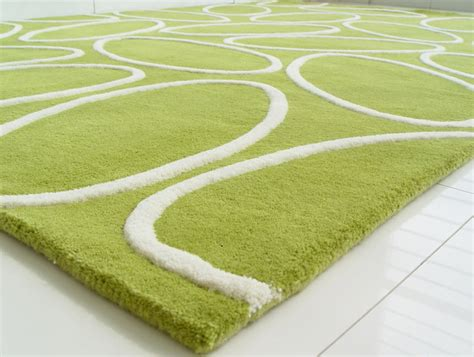Modern Green Rug Area Rugs Contemporary Florina Lime Green Hi Lo Rug Square White Rounds Wool Carpet Interior