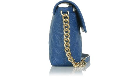 Marc Single Quilted Bag by Marc The Single Quilted Bag Large In Blue