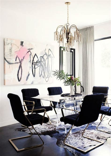 Black Chair And A Half Design Ideas Dining Room Design Ideas With Modern Chairs