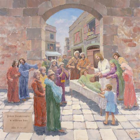 wann ist jesus gestorben bittar jesus erweckt den sohn einer witwe wieder