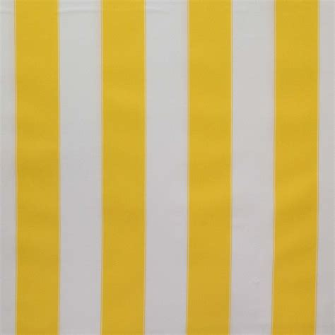 Waterproof Upholstery Fabric by Outdoor Upholstery Waterproof Canvas Fabric Yellow White
