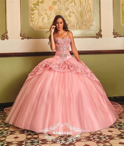 Rafazza Dress floral appliqued quinceanera dress by ragazza fashion b83