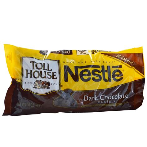 nestle toll house nestle toll house dark chocolate morsels 10 oz 283 g iherb com