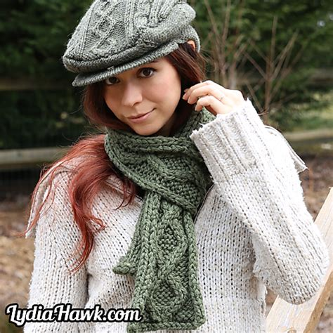 knitting patterns galore scarves knitting patterns galore lucky cable scarf