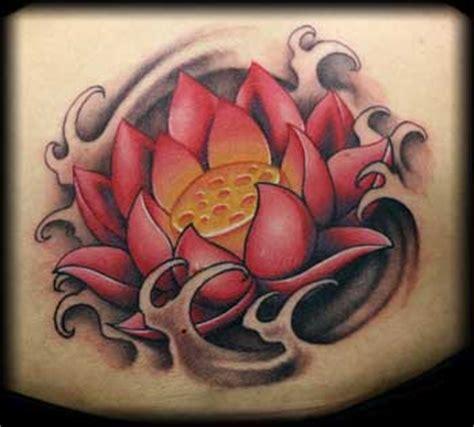 lotus tattoo buffalo jeff ensminger lotus with water